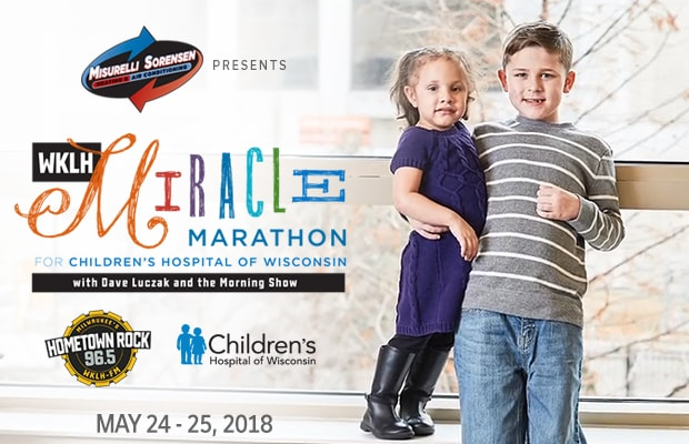 WKLH's Miracle Marathon for Children's hospital